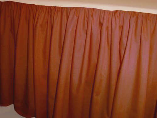 home curtains solid rust colored swag window valance optional