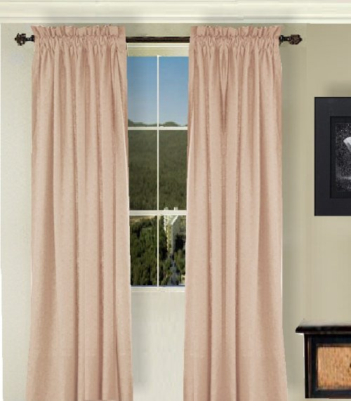 Pink curtain rod
